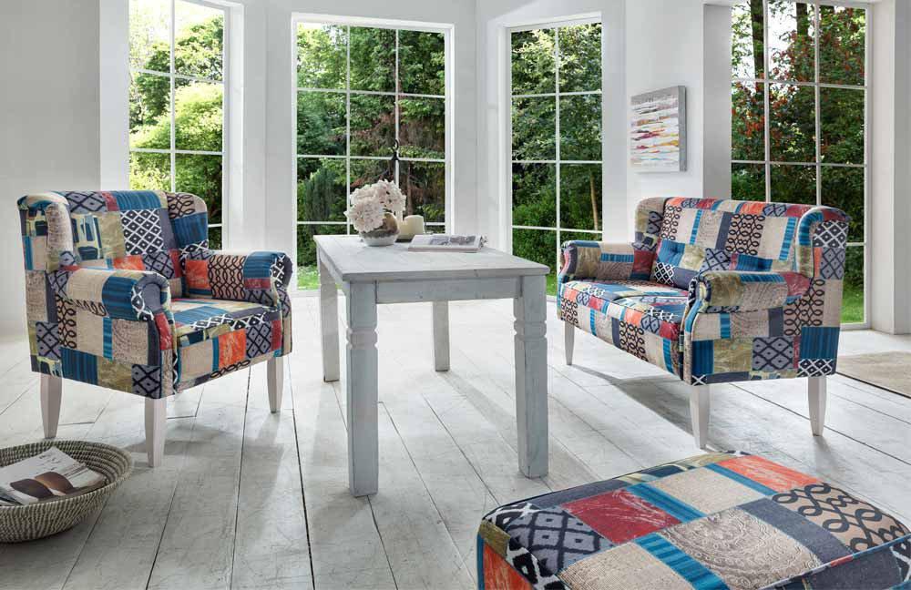 Benformato Mora Küchensofa Patchwork Blau Möbel Letz Ihr Online Shop