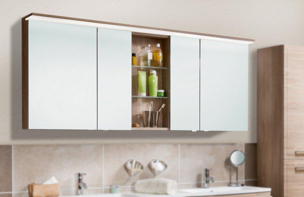 badezimmer spiegelschrank 3140 eiche von marlin m bel letz ihr online shop. Black Bedroom Furniture Sets. Home Design Ideas