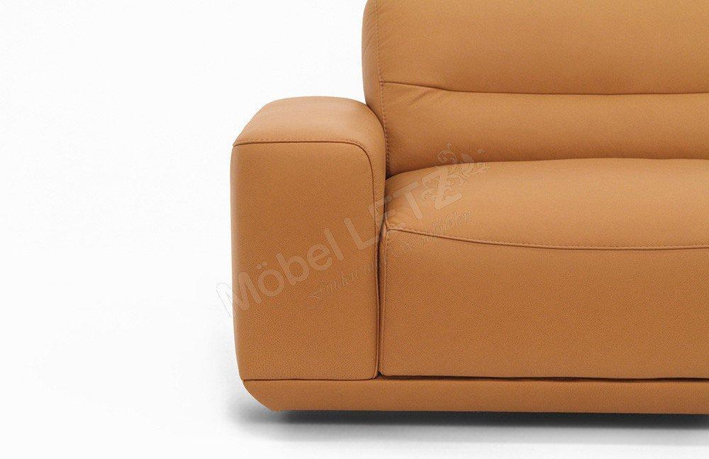 willi schillig 20560 william ledersofa brandy m bel letz. Black Bedroom Furniture Sets. Home Design Ideas