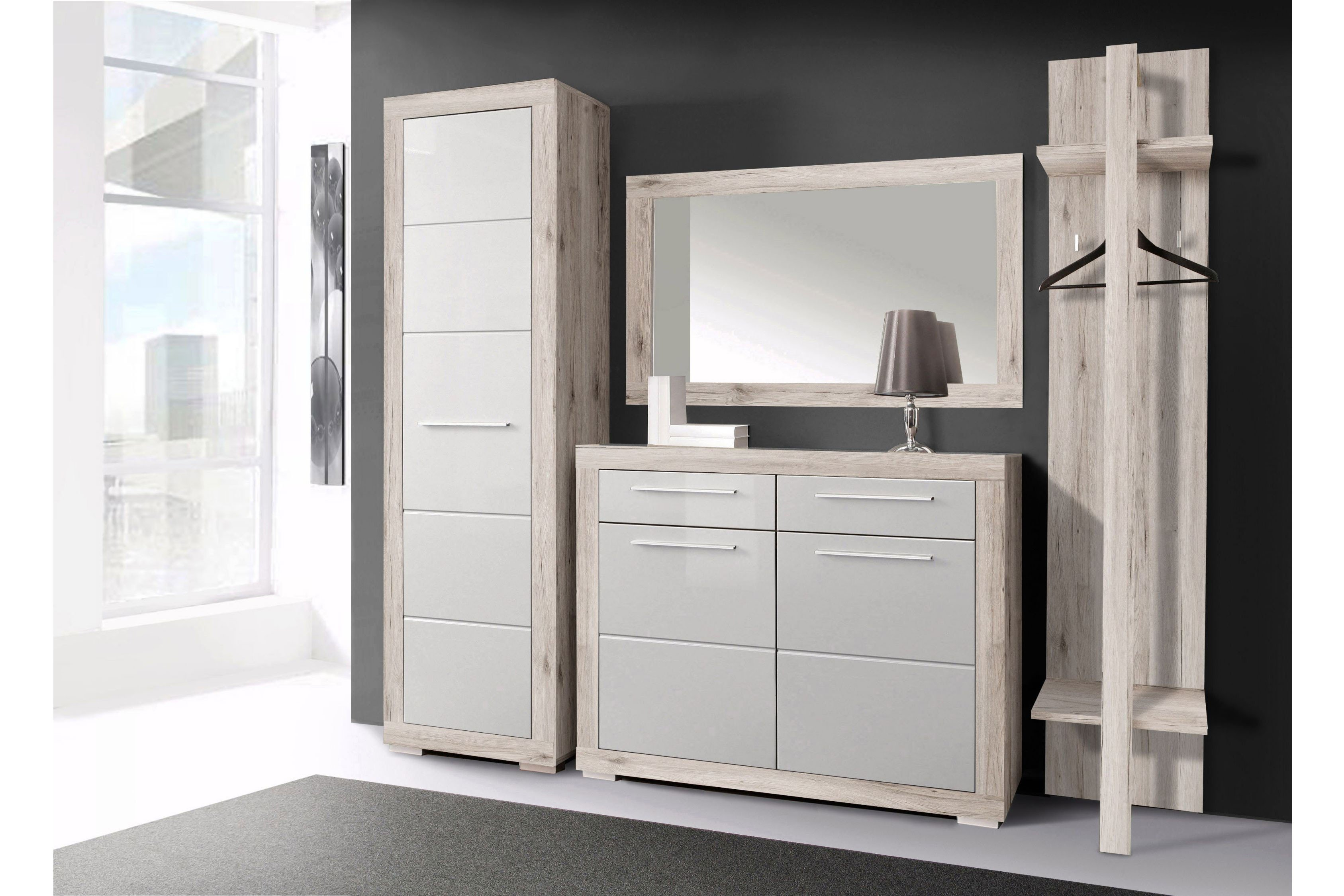 garderobe atrium samy wei von forte m bel letz ihr online shop. Black Bedroom Furniture Sets. Home Design Ideas
