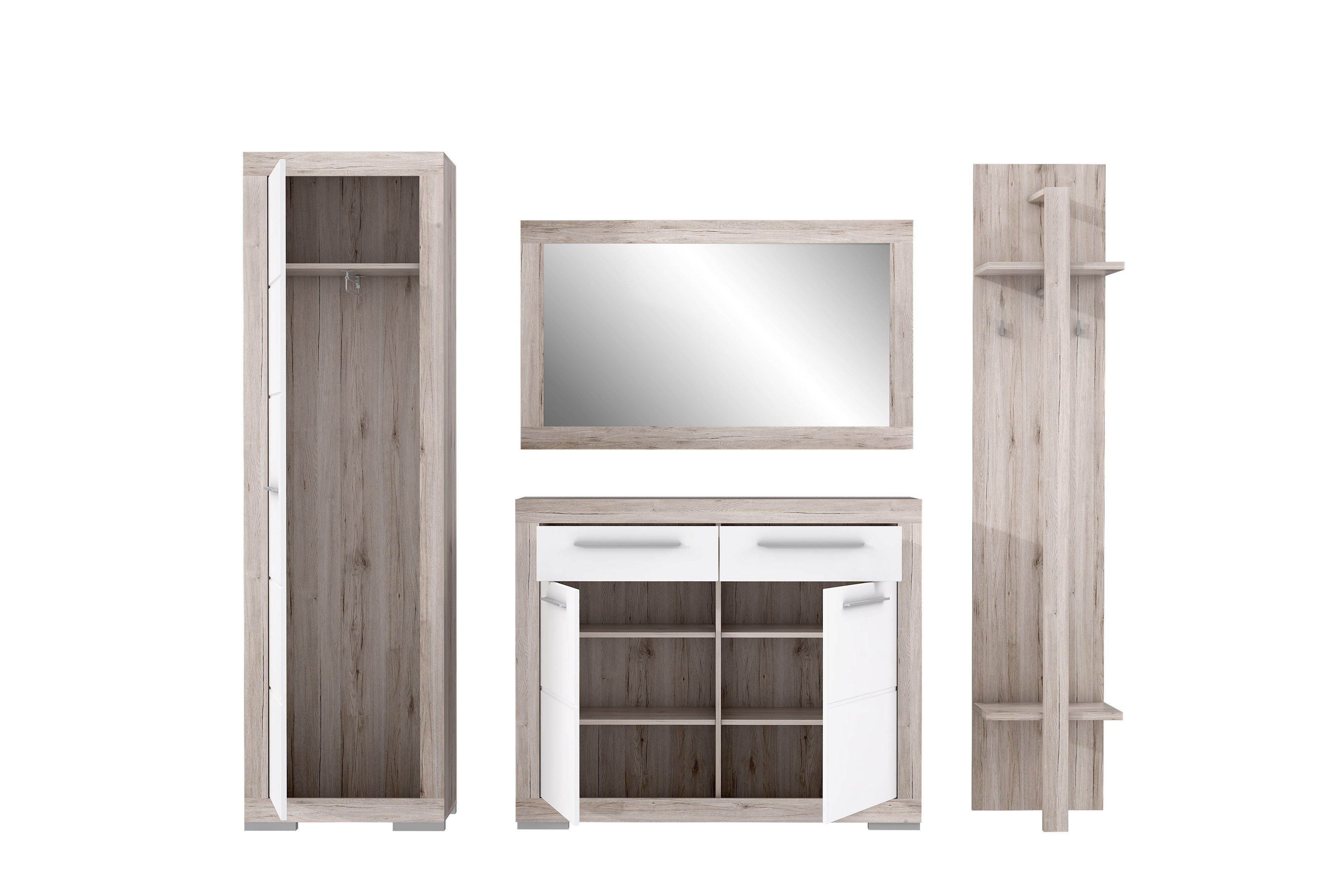 Garderobe Atrium Samy Weiss Von Forte Mobel Letz Ihr Online Shop