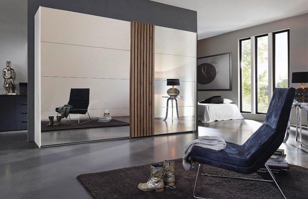 rauch tegio schrank front verspiegelt m bel letz ihr. Black Bedroom Furniture Sets. Home Design Ideas