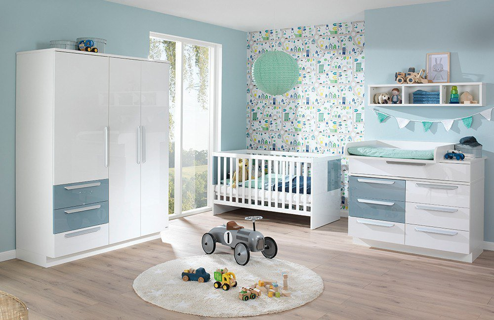 babyzimmer milla von wellem bel wei pacific blau m bel. Black Bedroom Furniture Sets. Home Design Ideas