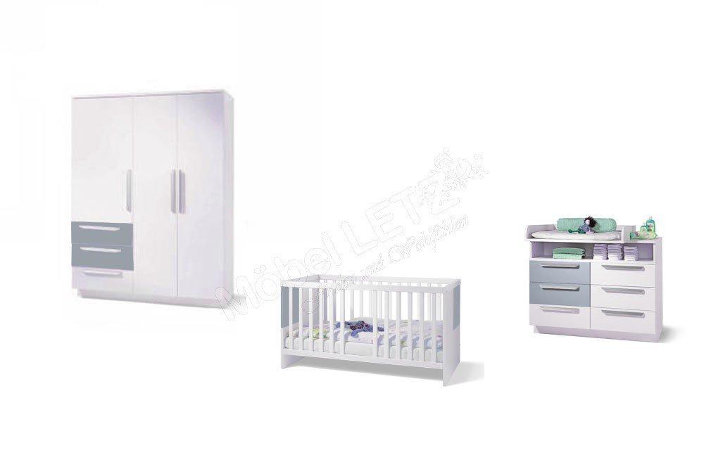 babyzimmer milla von wellem bel wei pacific blau m bel letz ihr online shop. Black Bedroom Furniture Sets. Home Design Ideas