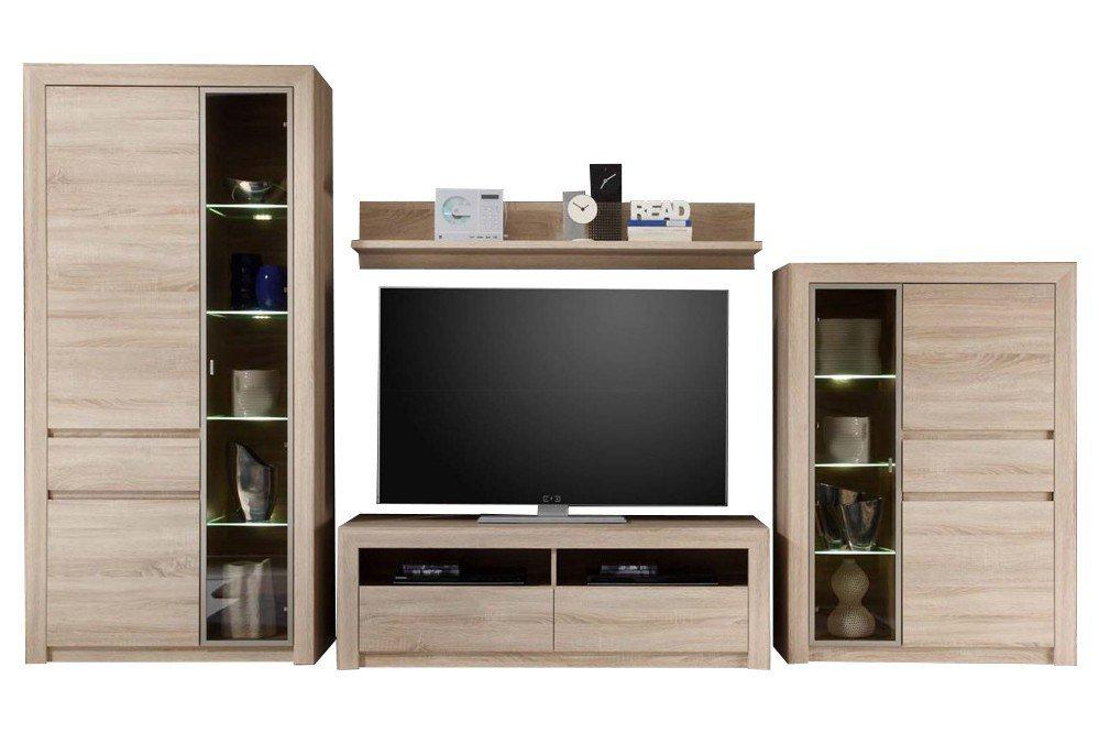 trendteam wohnwand sevilla 1415 987 45 m bel letz ihr online shop. Black Bedroom Furniture Sets. Home Design Ideas
