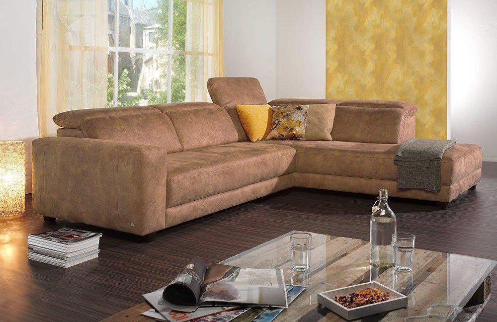 ultsch maxim ecksofa braun m bel letz ihr online shop. Black Bedroom Furniture Sets. Home Design Ideas