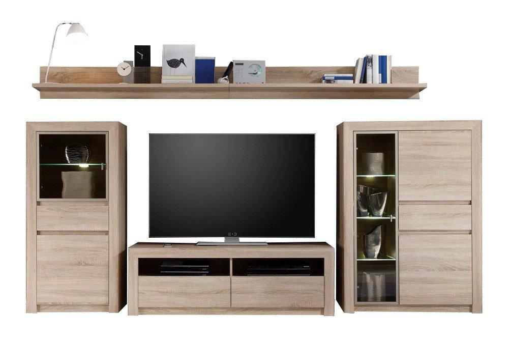 trendteam wohnwand sevilla 1415 947 45 m bel letz ihr online shop. Black Bedroom Furniture Sets. Home Design Ideas