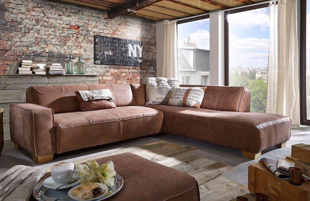 ultsch lissabon ledergarnitur mocca m bel letz ihr online shop. Black Bedroom Furniture Sets. Home Design Ideas