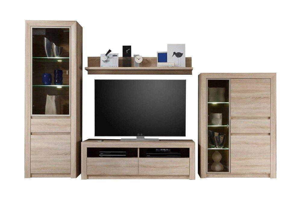 trendteam wohnwand sevilla 1415 967 45 m bel letz ihr online shop. Black Bedroom Furniture Sets. Home Design Ideas