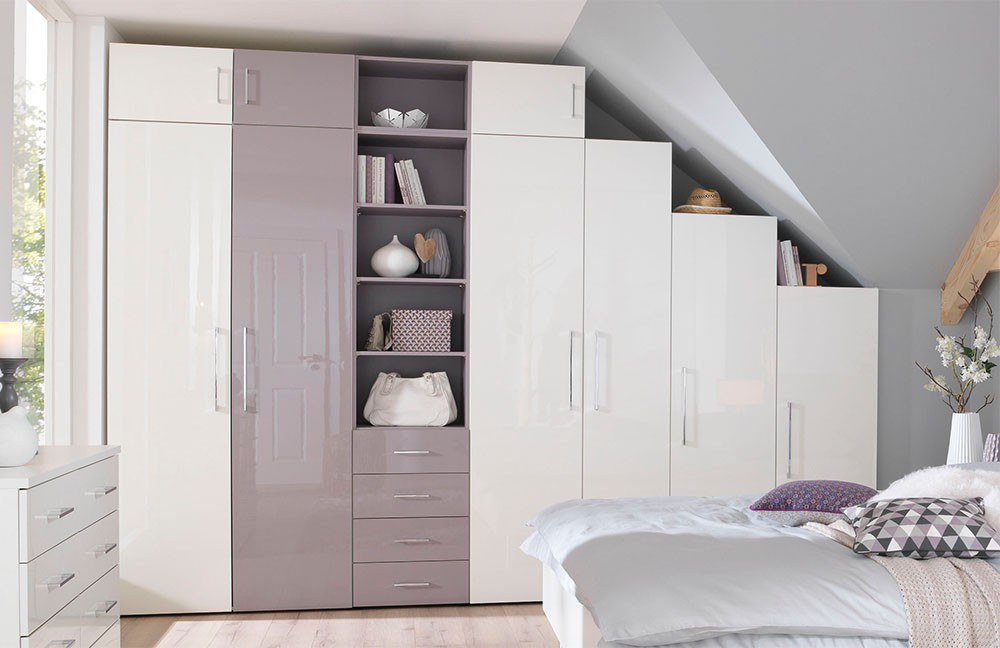 welle kleiderschrankwunder ksw 5 schlafzimmer wei lila m bel letz ihr online shop. Black Bedroom Furniture Sets. Home Design Ideas