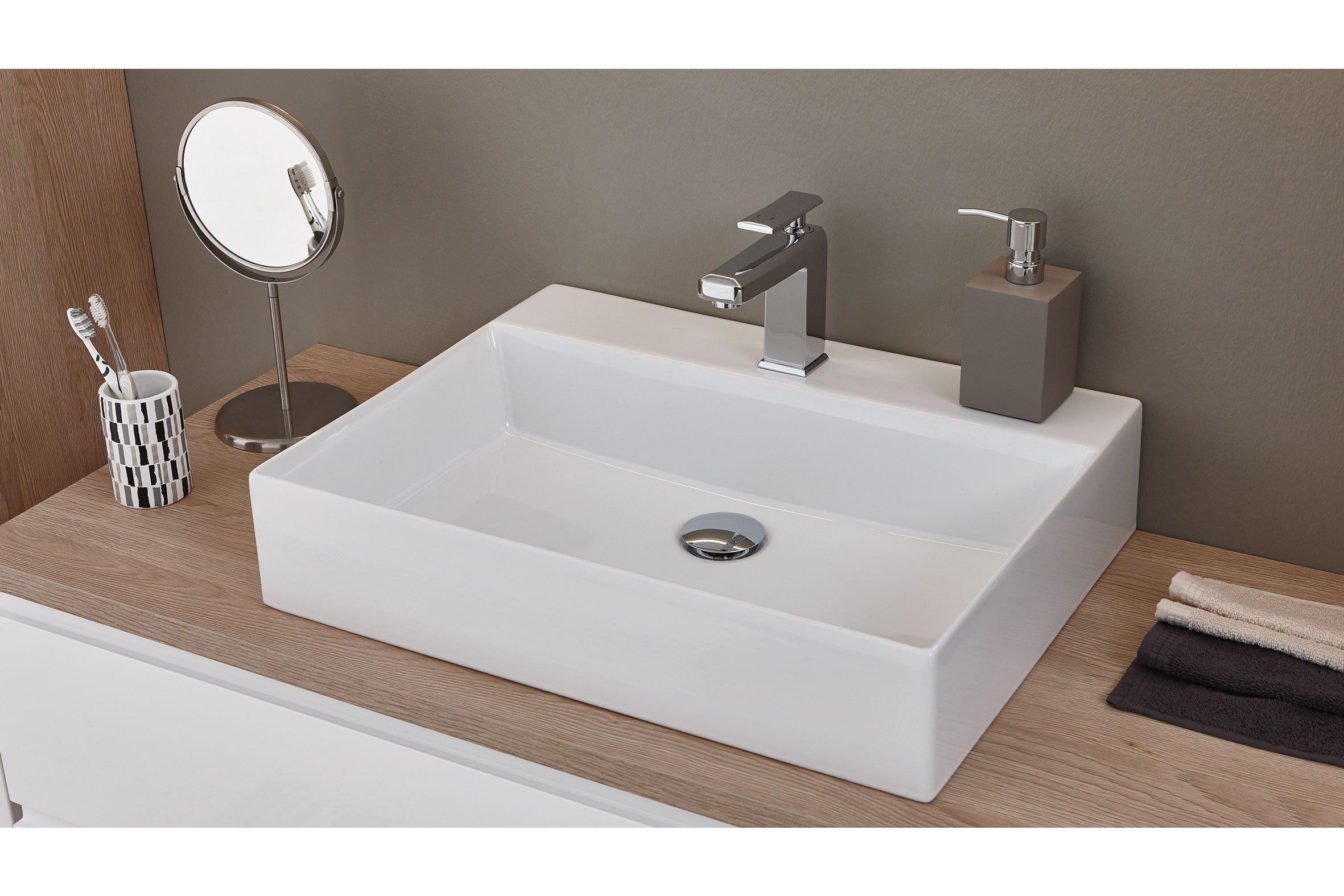 badezimmer variado 2.0 eiche weiß/ eiche von puris   möbel letz, Badezimmer ideen