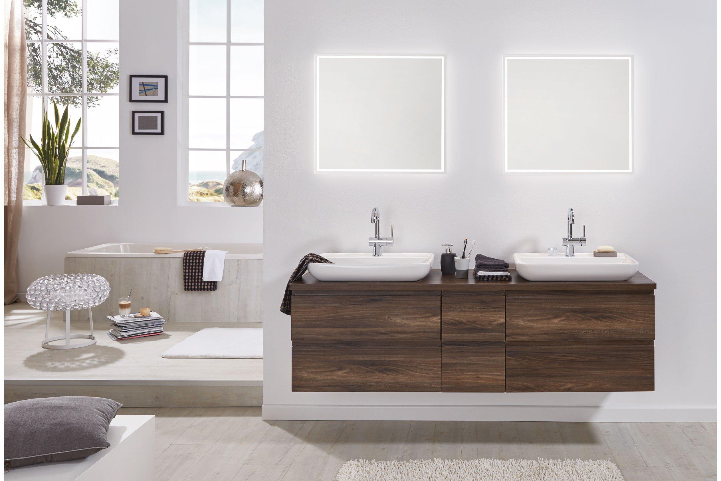 badezimmer variado 2.0 ulme von puris   möbel letz - ihr online-shop, Badezimmer ideen