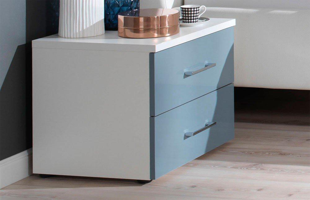 Wellemöbel Schlafzimmer KSW level 2 blau weiß | Möbel Letz - Ihr ...