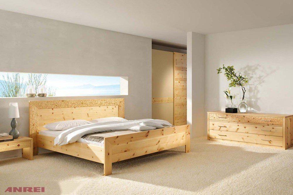 Anrei Rio Ri 150 Doppelbett Zirbenholz Mobel Letz Ihr Online Shop