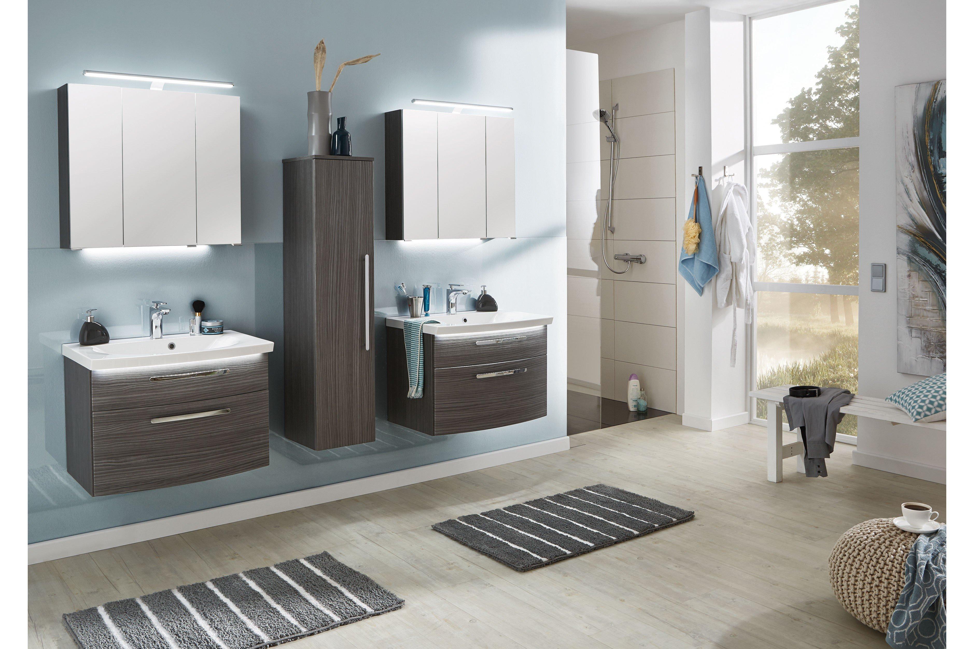 Badezimmer vuelta hacienda grau von puris m bel letz - Badezimmer grau ...