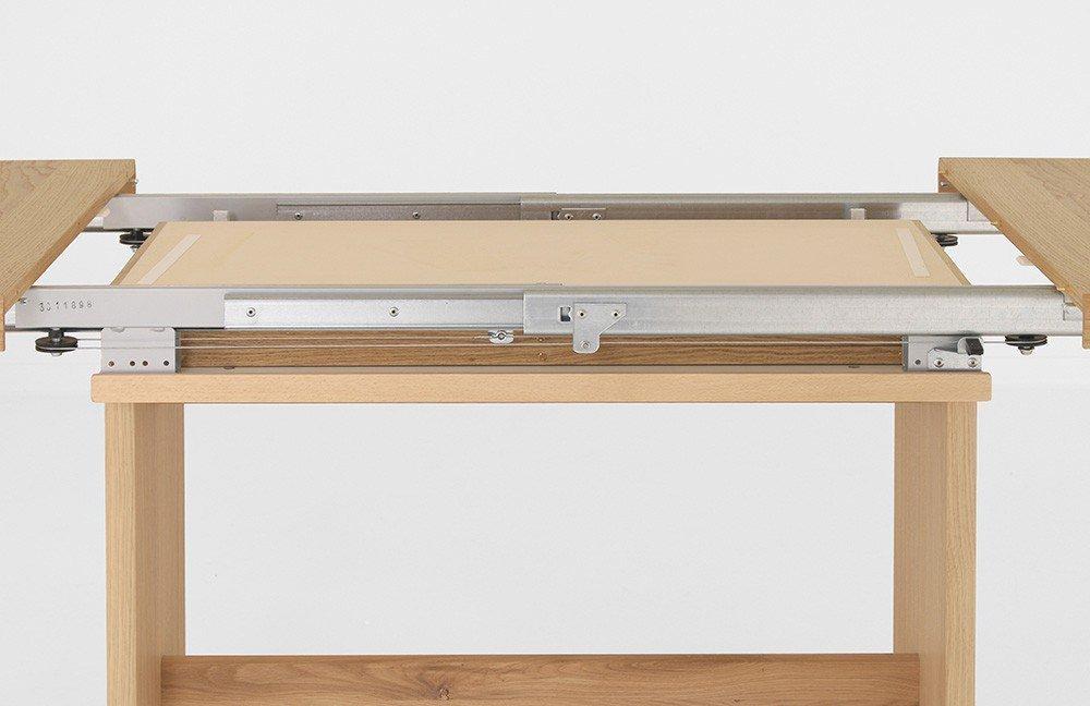 Esstisch Multi-Tischsystem Eiche bianco von Niehoff Sitzmöbel ...