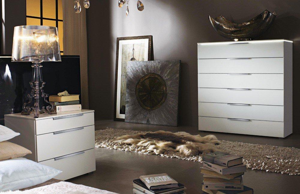 rauch 20up nachtschrank wei matt m bel letz ihr online shop. Black Bedroom Furniture Sets. Home Design Ideas