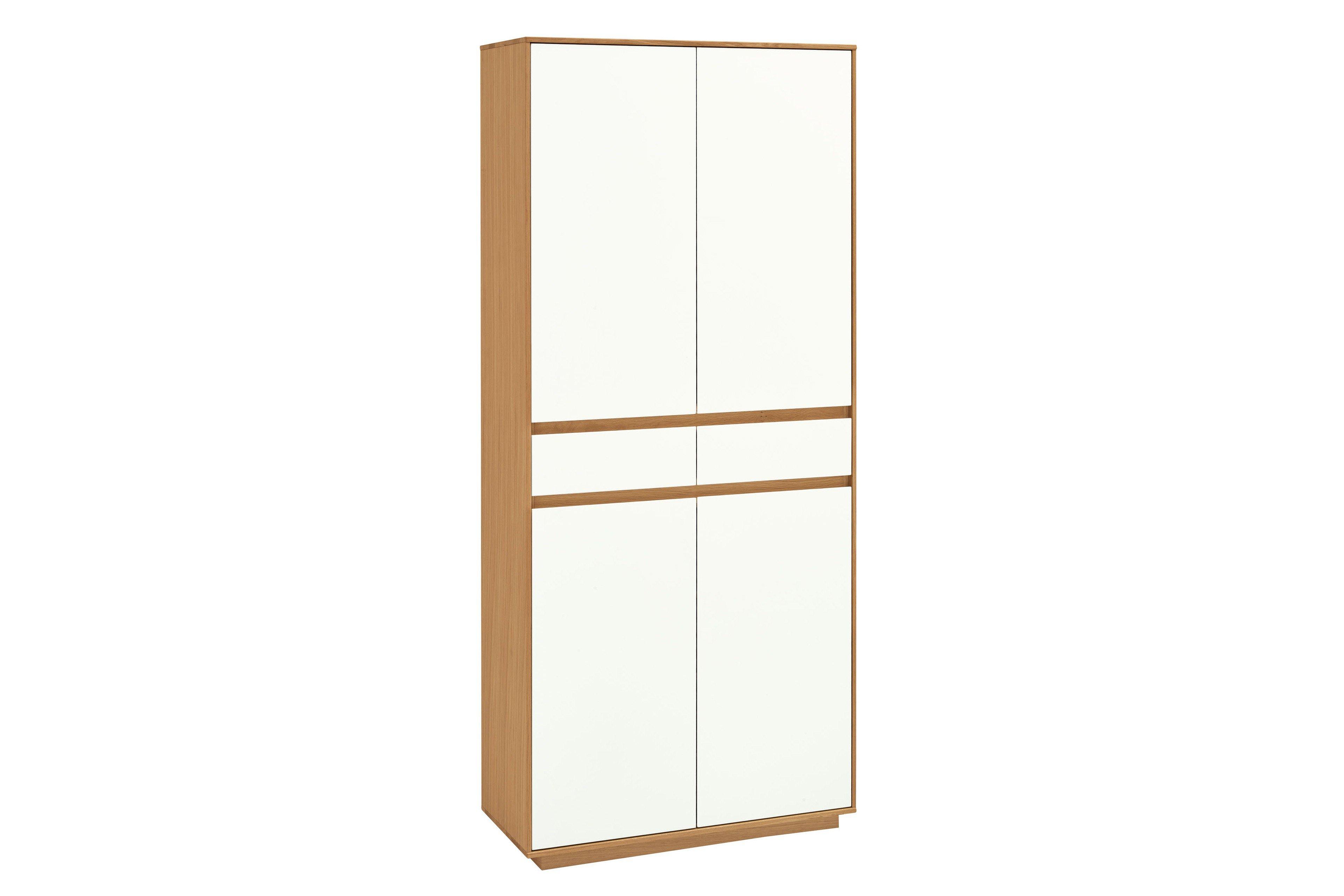 Voss Möbel Garderobenschrank V100 Eiche/ weiß | Möbel Letz - Ihr ...