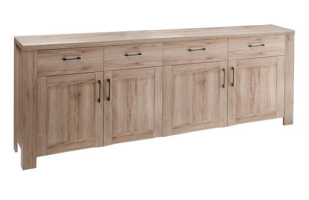 m usbacher sideboard lupo 0693 44 eiche sanremo hell m bel letz ihr online shop. Black Bedroom Furniture Sets. Home Design Ideas