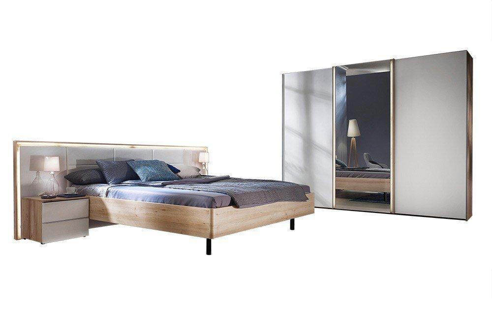 ipanema von nolte mobel schlafzimmer icona buche weissglas