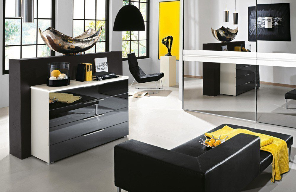 rauch 20up kommode wei grauspiegel m bel letz ihr. Black Bedroom Furniture Sets. Home Design Ideas