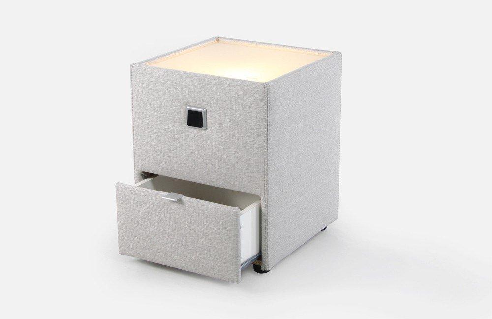 jockenh fer lancy nachtkonsole in beige m bel letz ihr online shop. Black Bedroom Furniture Sets. Home Design Ideas