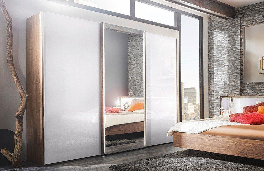 Nolte m bel ipanema schlafzimmer macadamia nussbaum wei glas m bel letz ihr online shop - Schlafzimmer von nolte ...
