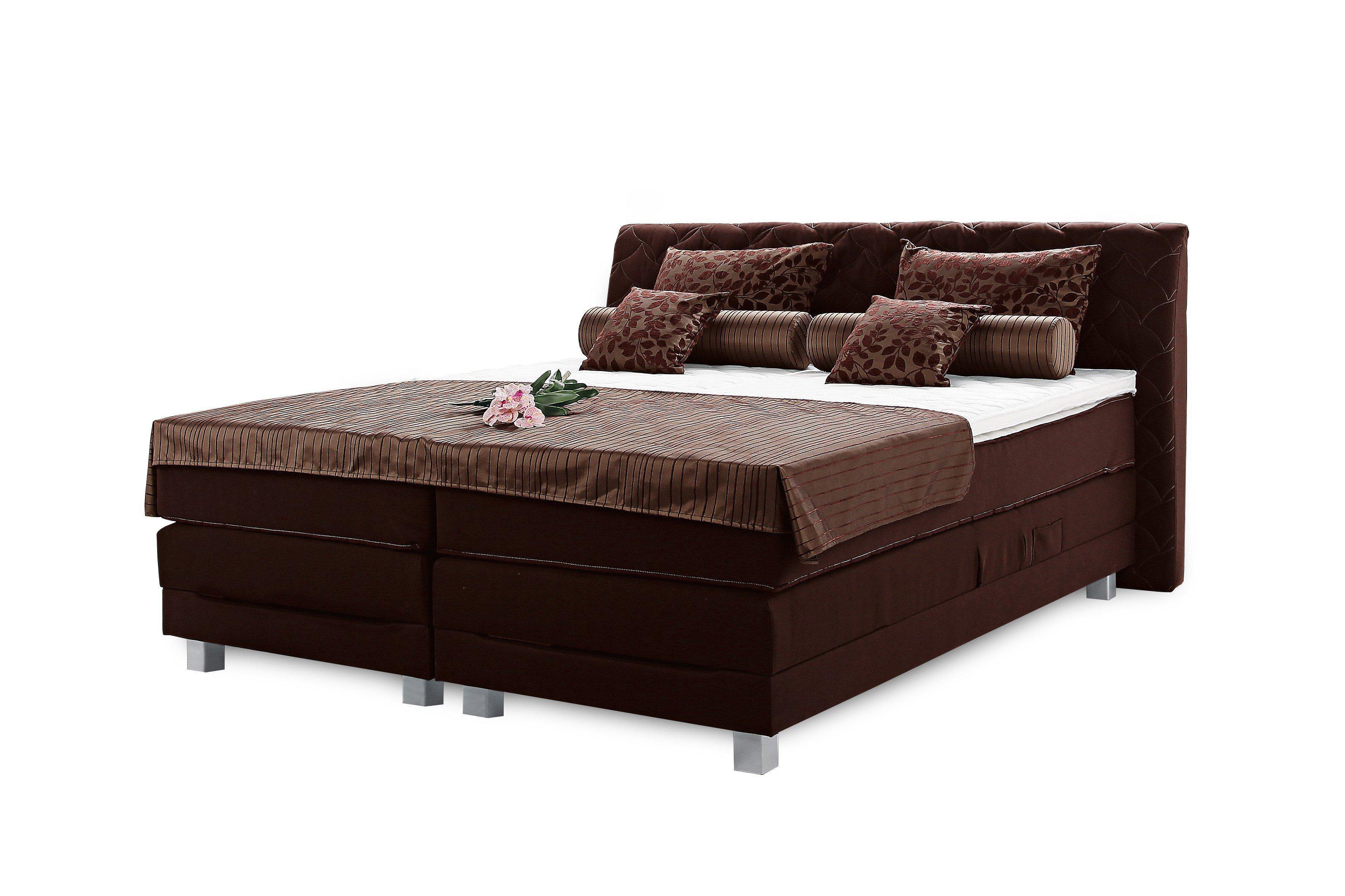 breckle boxspringbett rio merida in braun m bel letz. Black Bedroom Furniture Sets. Home Design Ideas