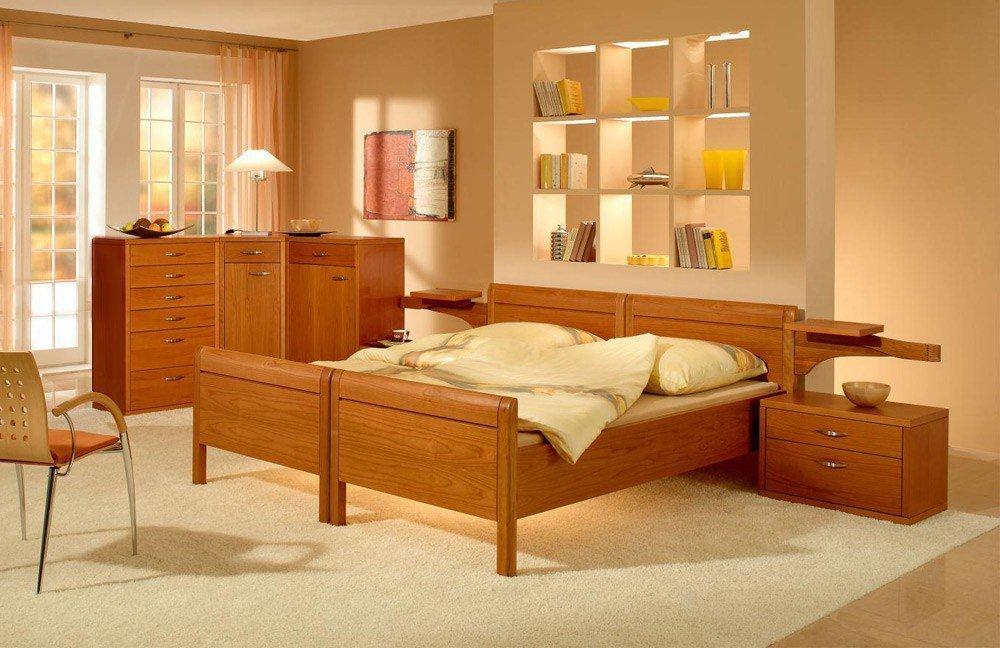 Dietz Morani Einzelbett Kirsche ambra | Möbel Letz - Ihr Online-Shop