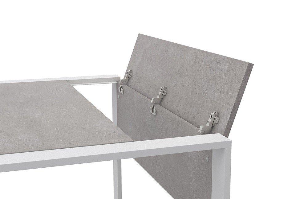 Beliebt Röhr-Bush Büromöbel direct.office beton/ weiß | Möbel Letz - Ihr ZJ77