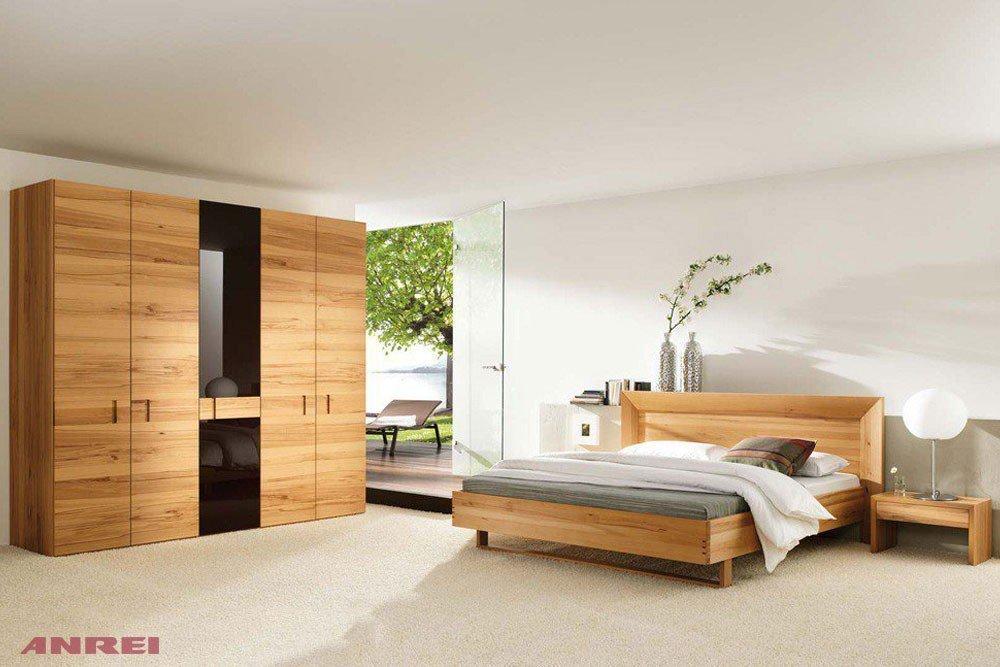 Schlafzimmer Rio ANREI Kernbuche/ schoko | Möbel Letz - Ihr Online-Shop