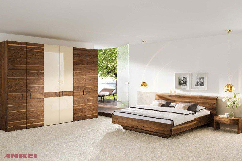 schlafzimmer set rio anrei astnuss glas latte m bel. Black Bedroom Furniture Sets. Home Design Ideas