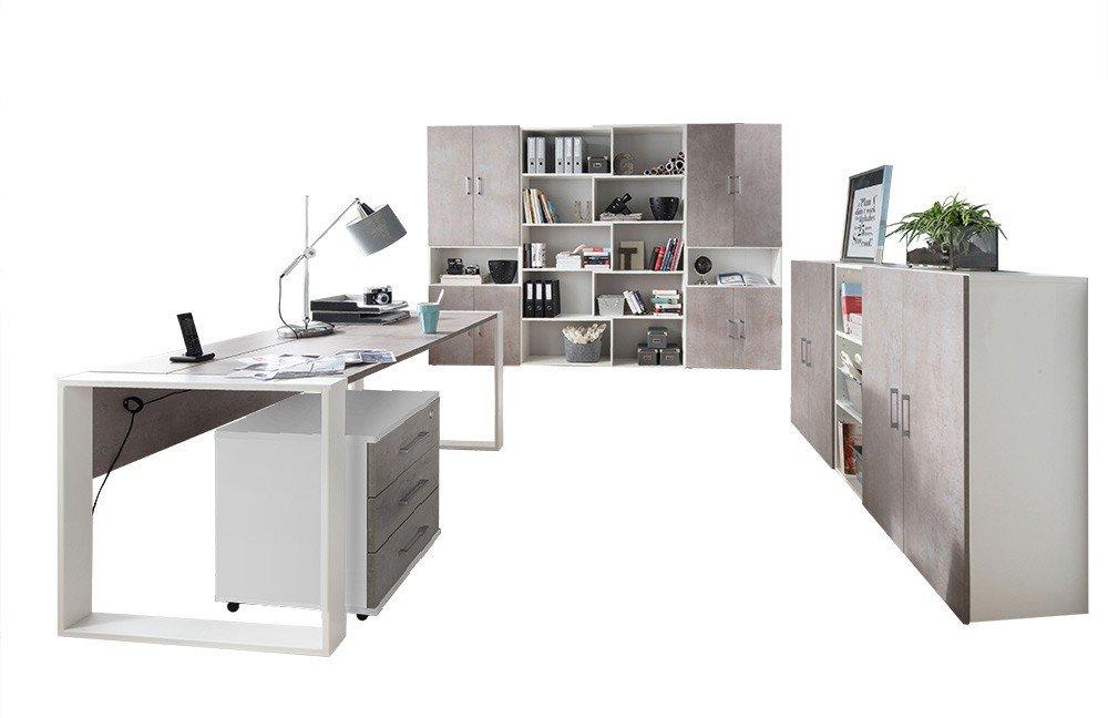 Röhr direct.office Büromöbel-Set 8-teilig | Möbel Letz - Ihr Online-Shop