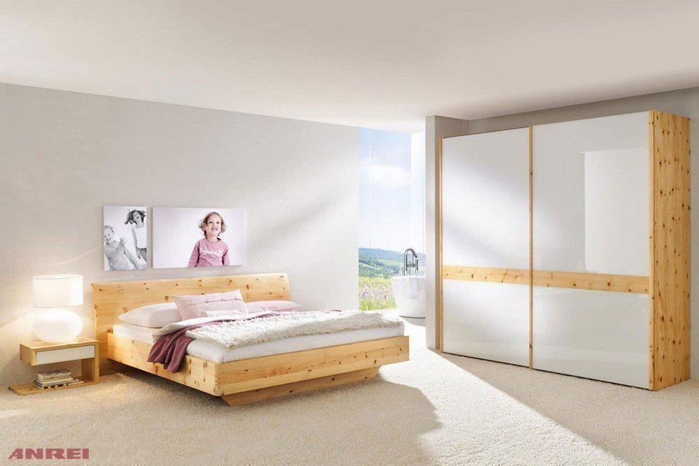 ANREI Rio Schlafzimmer-Set mit Zirbenbett | Möbel Letz - Ihr Online-Shop