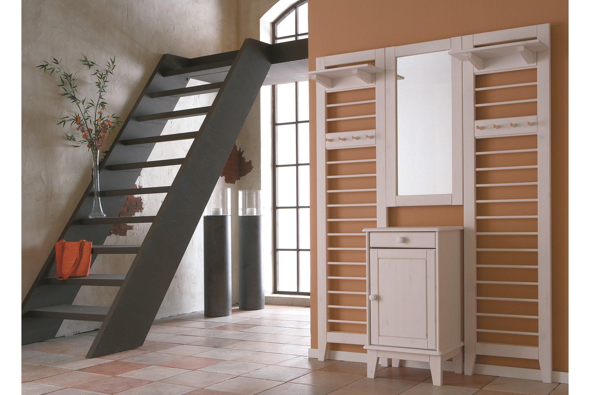 iversen interior garderobe butler kiefer wei m bel letz ihr online shop. Black Bedroom Furniture Sets. Home Design Ideas