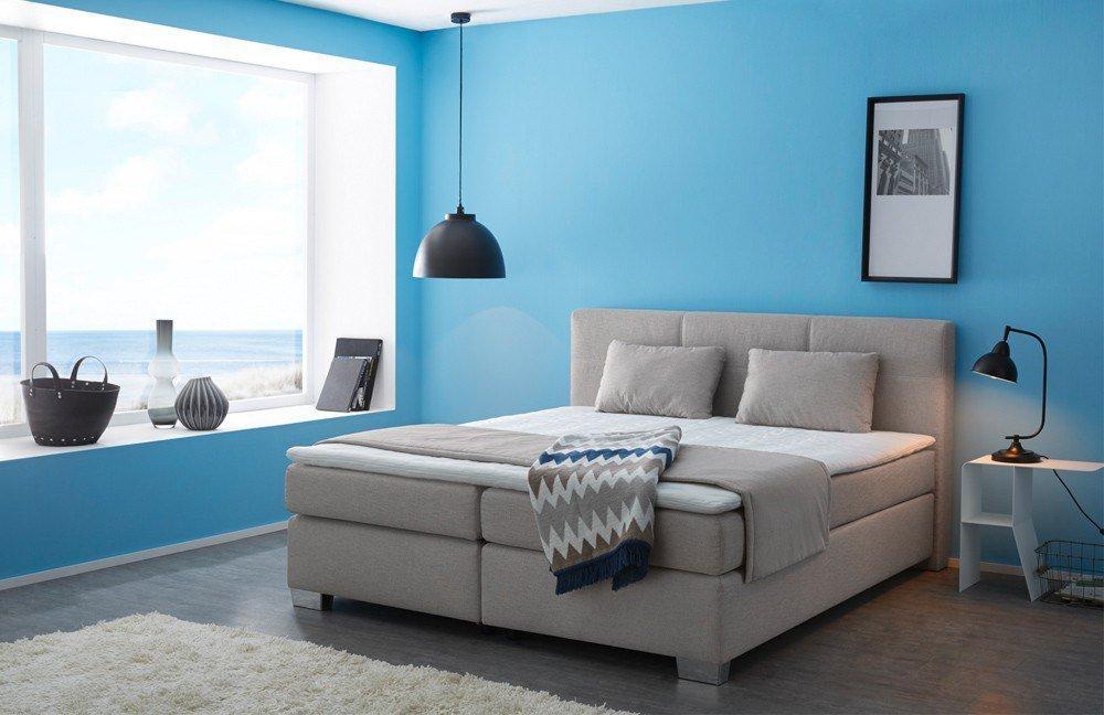 jockenh fer boxspringbett evita ruthie in braun beige m bel letz ihr online shop. Black Bedroom Furniture Sets. Home Design Ideas