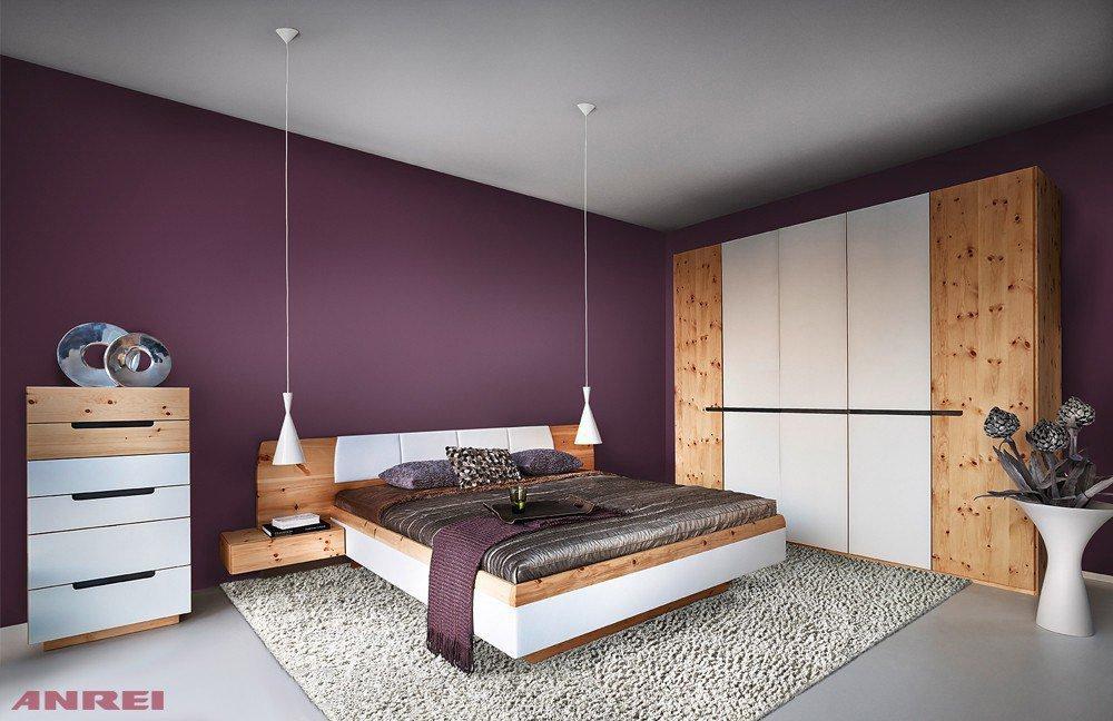 ANREI Tares Schlafzimmer-Set Zirbenholz/ reinweiß | Möbel Letz - Ihr ...
