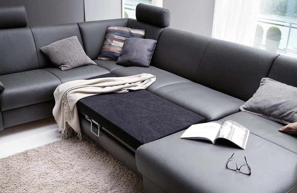 Polsteria Ledergarnitur Flexi Form | Möbel Letz - Ihr Online-Shop