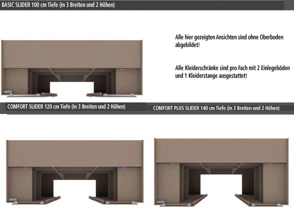 Wellemöbel Ineo begehbarer Schrank weiß   Möbel Letz - Ihr Online-Shop