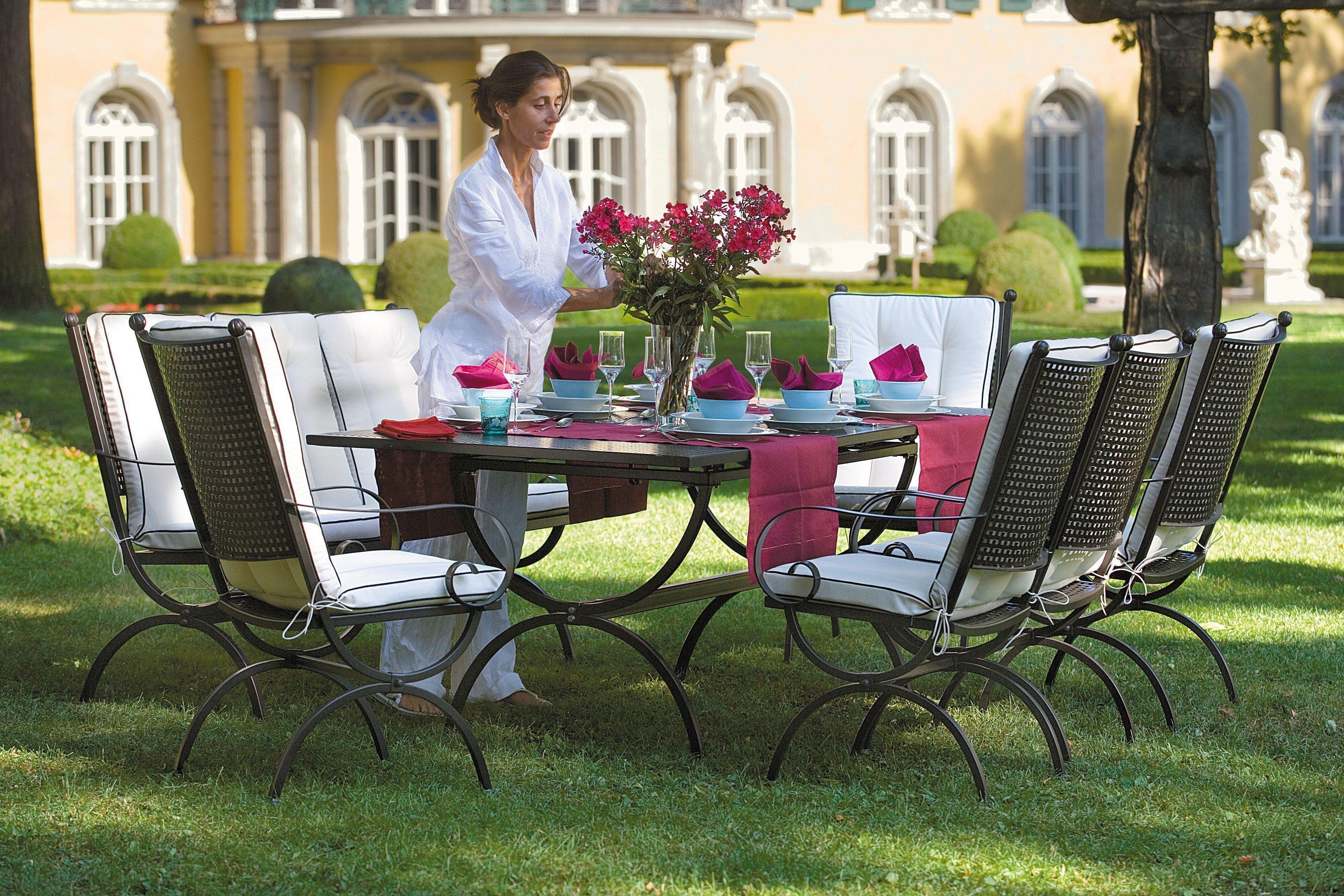 MBM Gartentisch Romeo Schmiedeeisen | Möbel Letz - Ihr Online-Shop