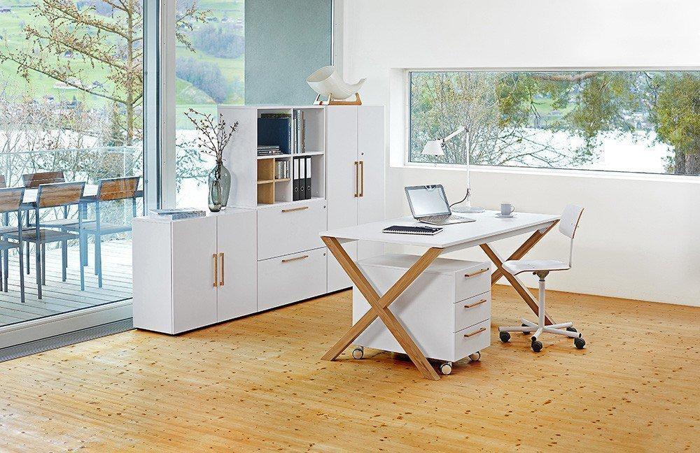 Reinhard x-legno Büromöbel weiß | Möbel Letz - Ihr Online-Shop