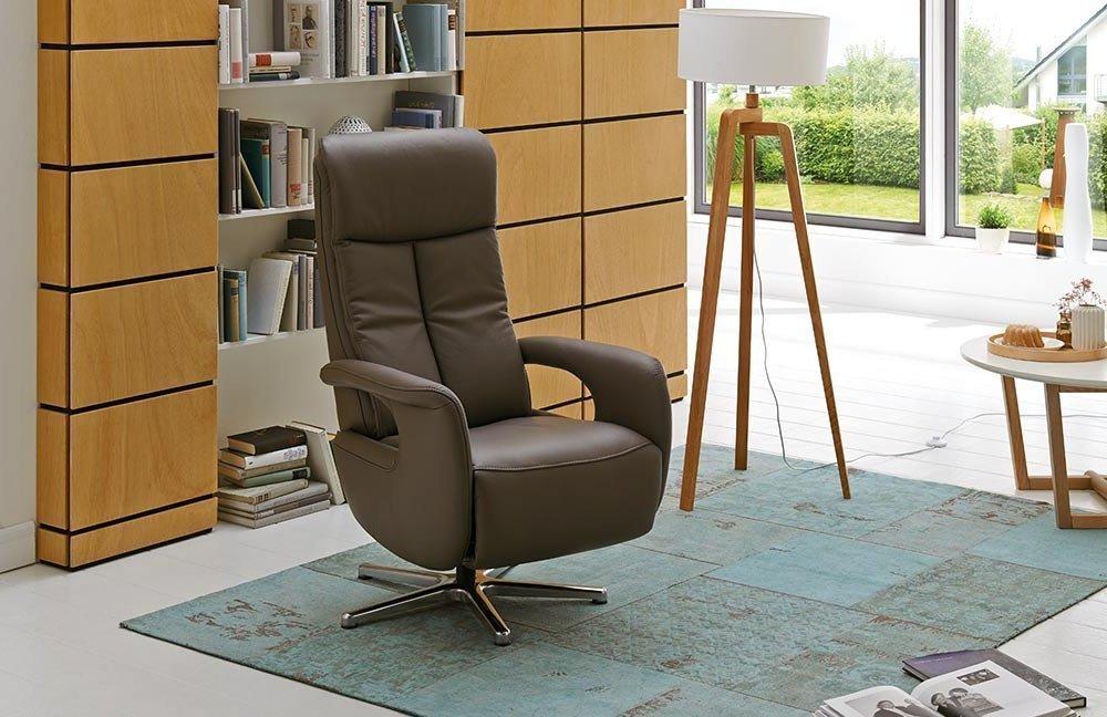 Hukla Smart Funktionssessel In Braun Möbel Letz Ihr Online Shop