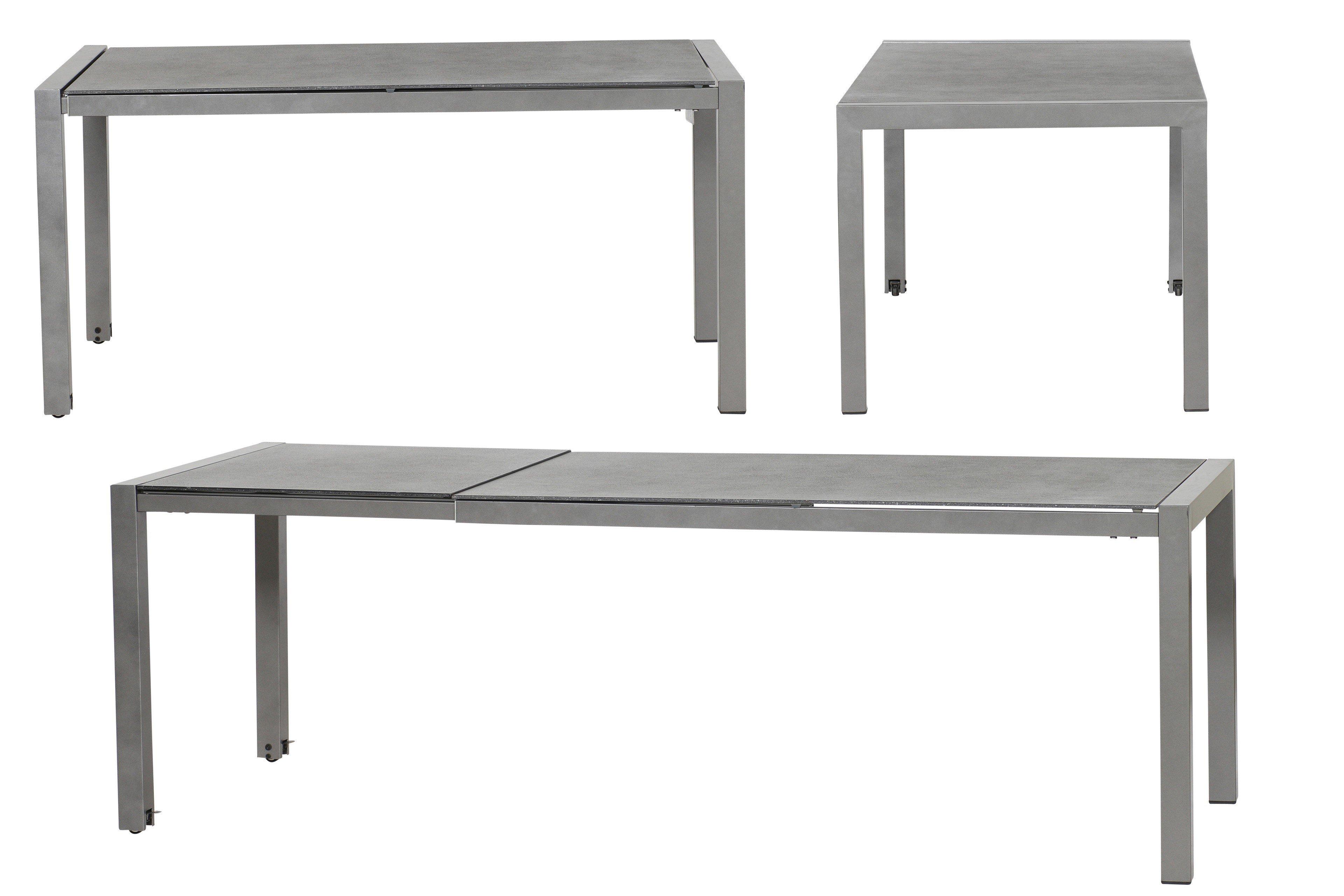 MBM Gartentisch Kennedy mit Spraystone-Tischplatte | Möbel Letz ...
