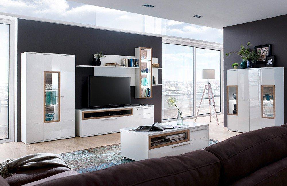 Wohnwand III Pamplona von MCA | Möbel Letz - Ihr Online-Shop