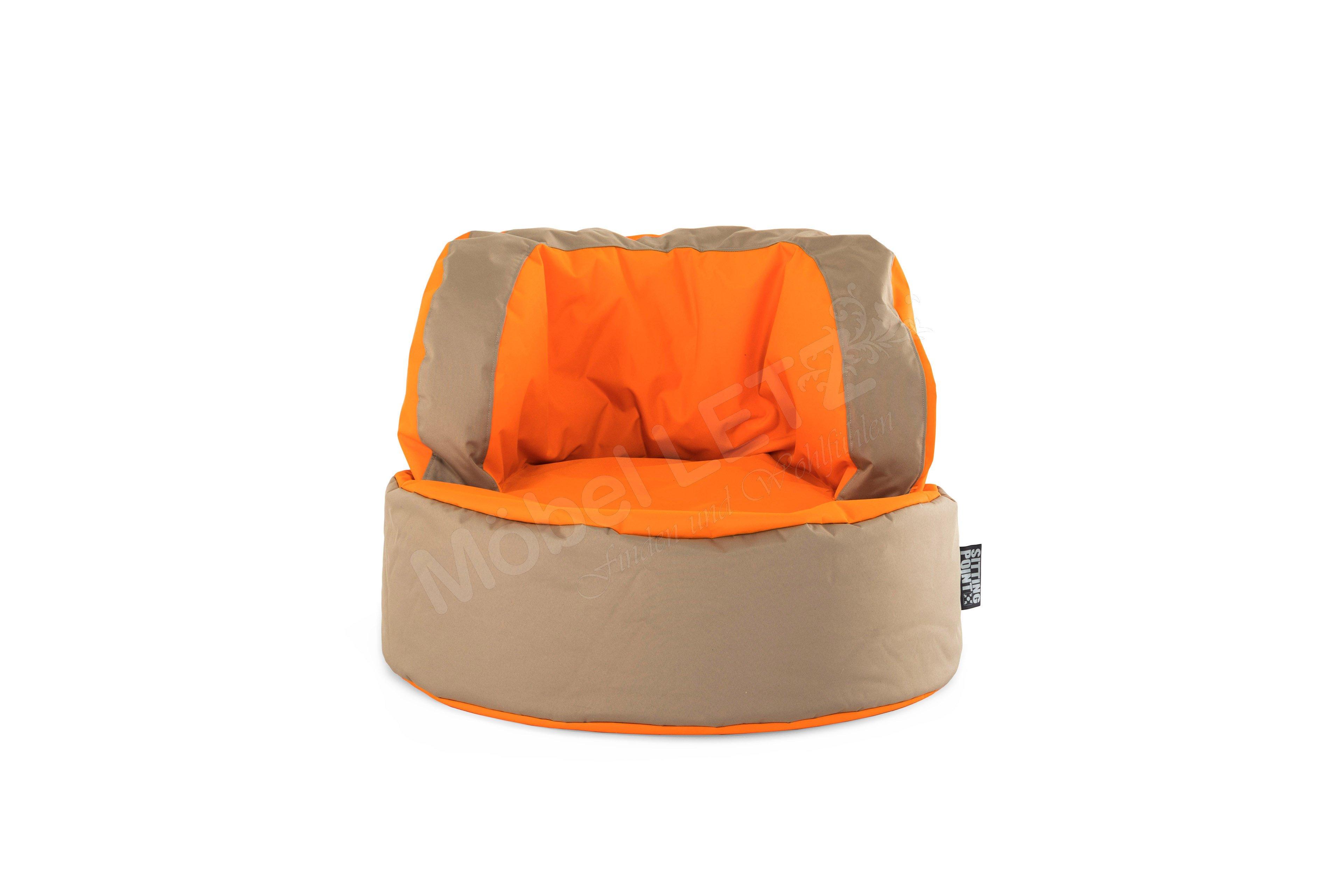 Bebop Scuba Von Magma Heimtex Sitzsack Orange