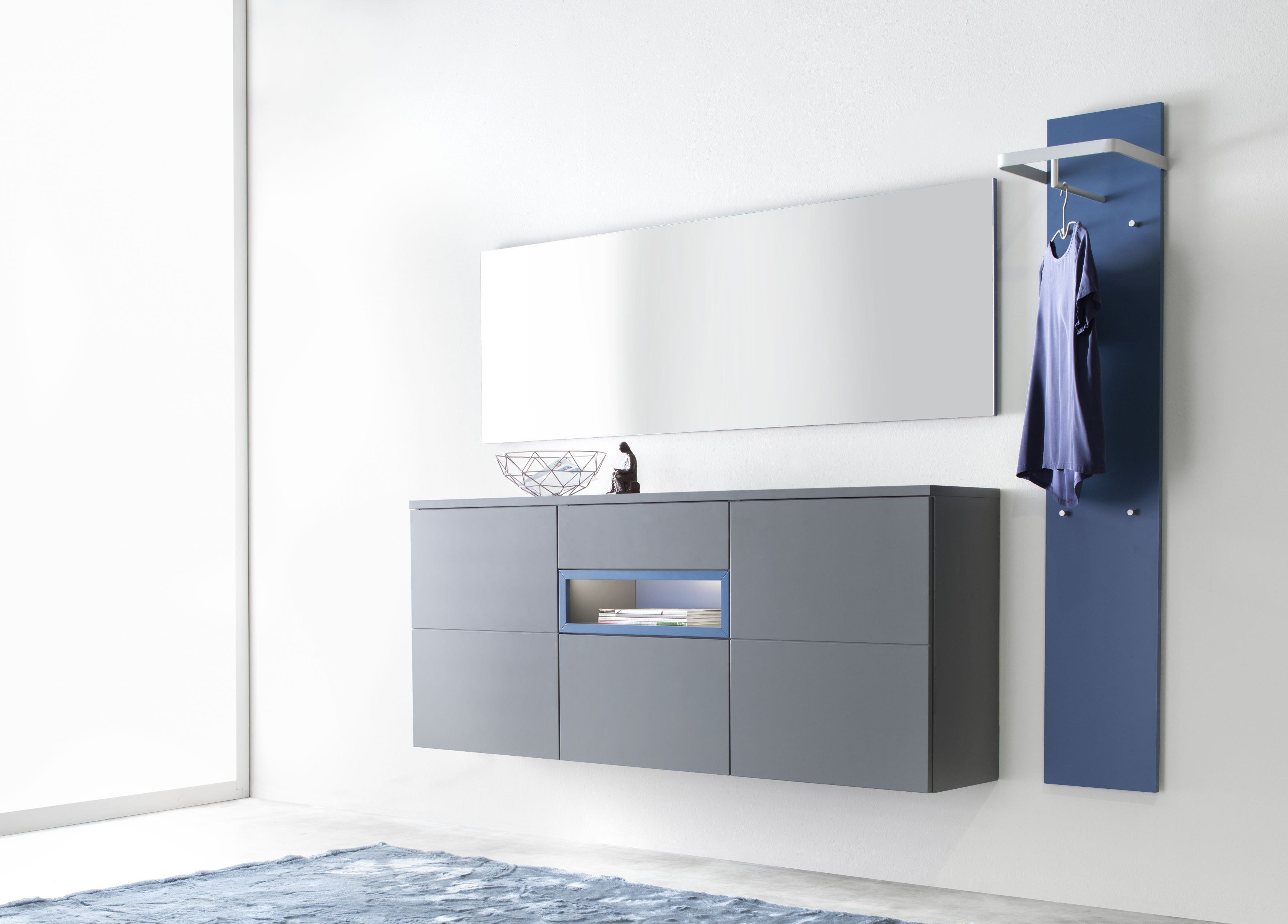 kollektion letz garderobe fabiola grau blau m bel letz ihr online shop. Black Bedroom Furniture Sets. Home Design Ideas