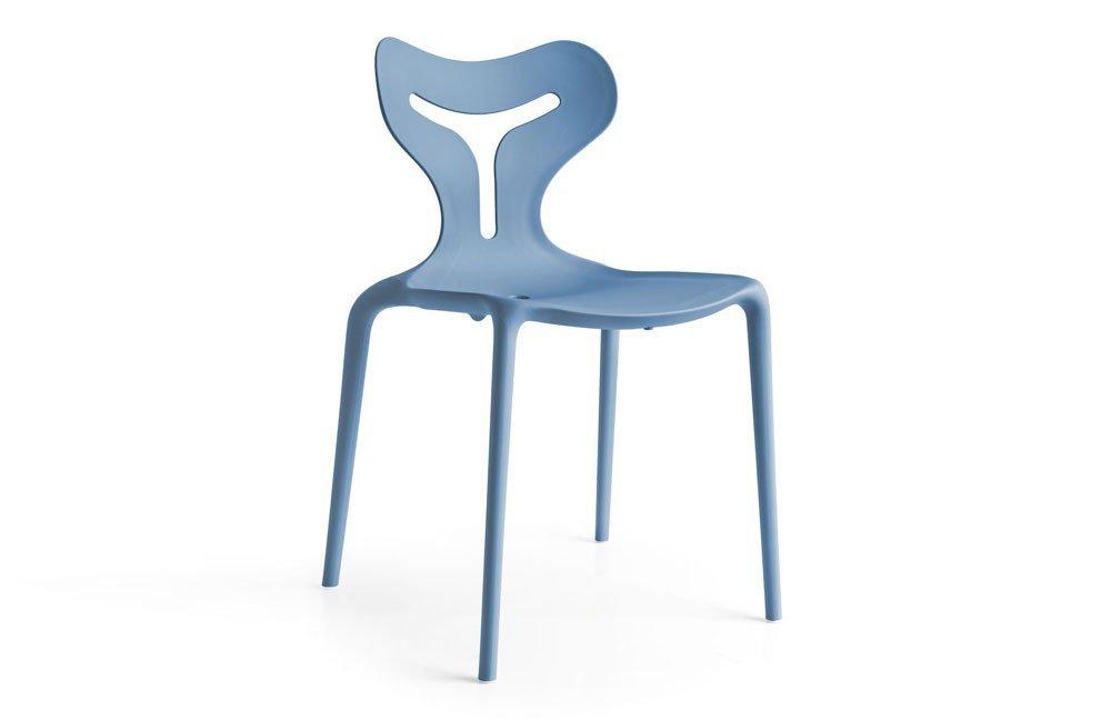 Stuhl Area51 blau matt von connubia by calligaris | Möbel Letz - Ihr ...