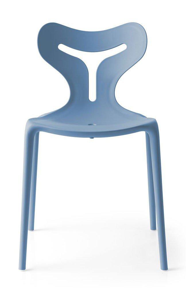 Stuhl Area51 blau matt von connubia by calligaris | Möbel Letz ...
