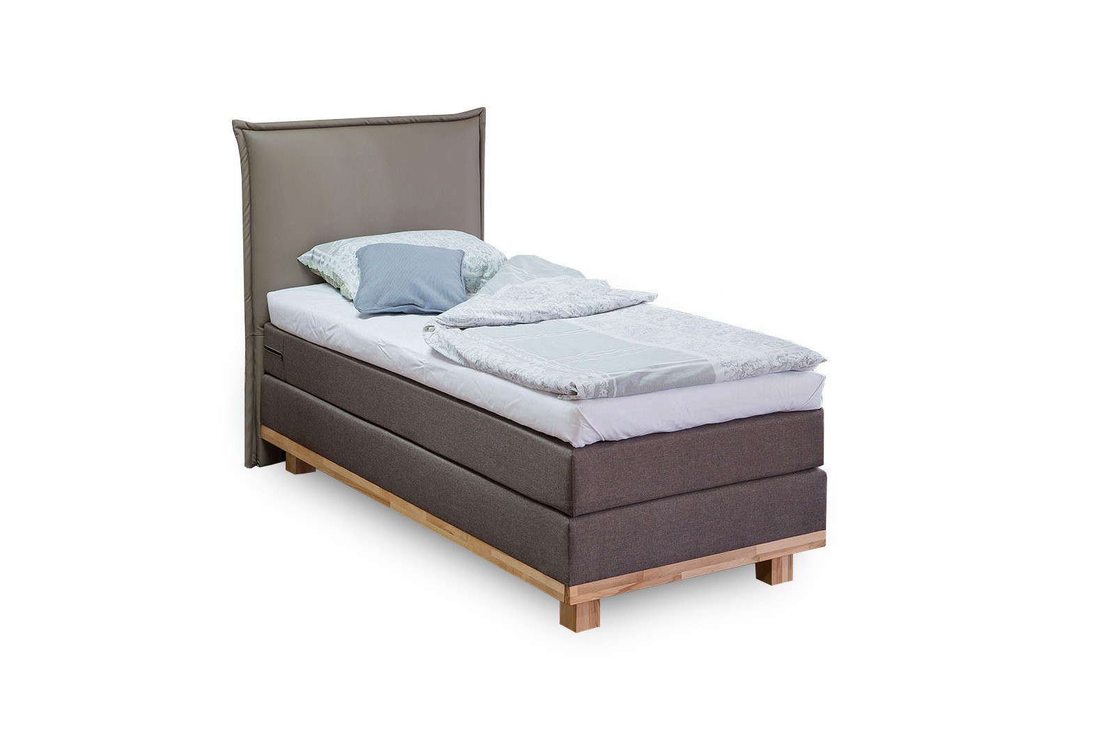 boxspringbett trendi von dico m bel in braun l m bel letz ihr online shop. Black Bedroom Furniture Sets. Home Design Ideas