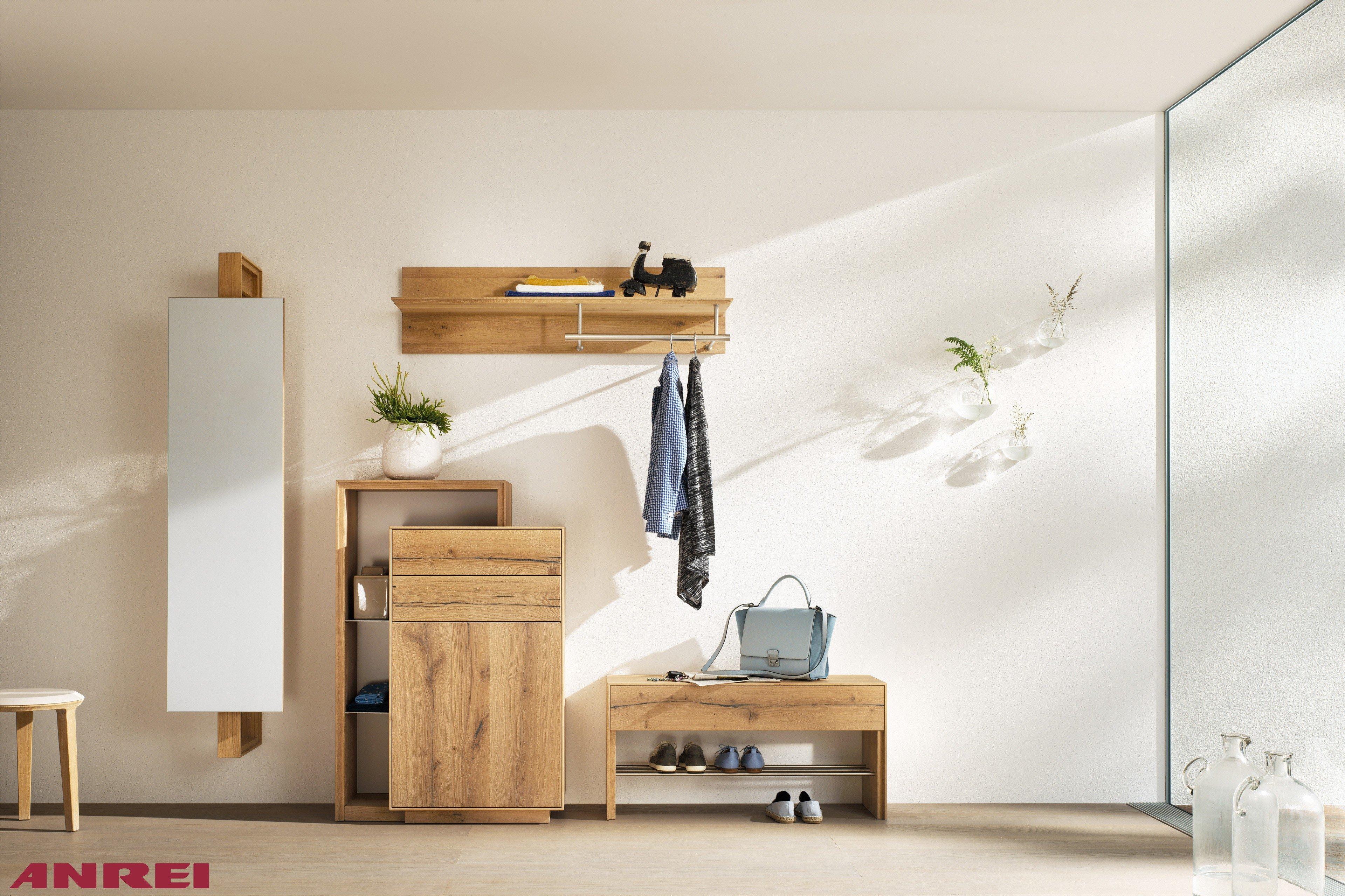 ANREI Garderobe Puro PU 72 Asteiche | Möbel Letz - Ihr Online-Shop